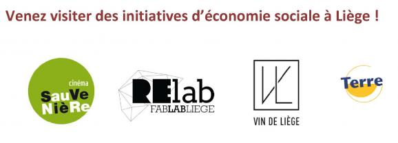 Envie de visiter des initiatives d'économie sociale à Liège ?